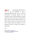Ningbo Hot International Trade Co., Ltd.