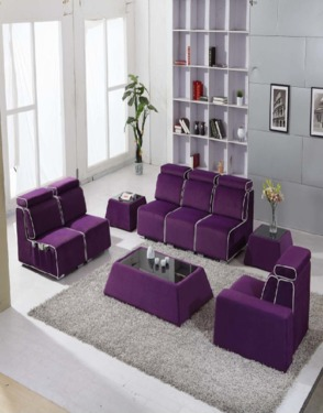 Chinese Style Modern Fabric Sofa Furniture