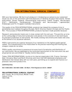 FIDA International