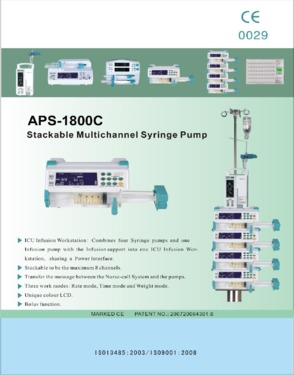 The price of single top syringe pump(CE approved)