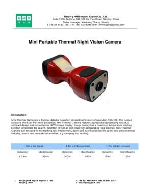 Portable Night Vision Camera
