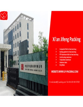 Sealing Machine used Composite Film for Pharmaceutical packing