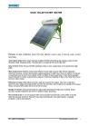 SK201 integrated unpressurized solar water heater