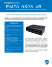 DOCSIS 3.0 Cable Modem Intergrated VoIP Terminal Adapter
