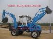 WYL25-10 7T backhoe loader, front excavator and backhoe loader