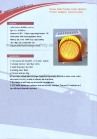 solar amber flasher 100mm, 200mm, 300mm