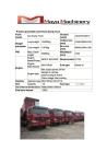 Used Howo Dump Truck 2011 Year