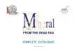 MINERAL LINE - FROM THE DEAD SEA