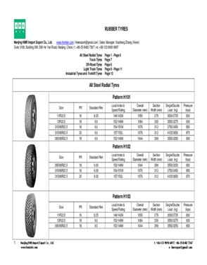 Off-The-Road Tyre - Pattern H668