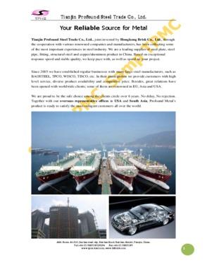Tianjin Profound Metal Material Co., Ltd
