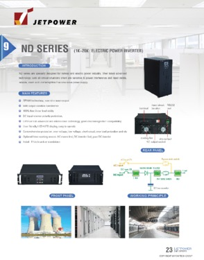 Electric Power Inverter 220V with Isolation Transformer