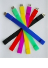 USB silicone Bracelet Eco-friendly Silicone Good Quality Competitive Price OEM/ODM Service Samples Available