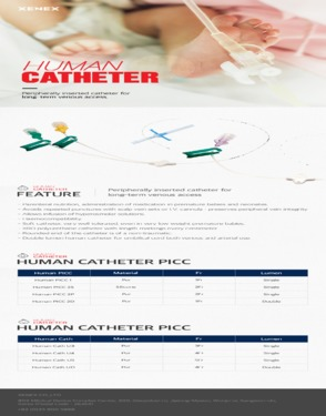 Neonatal PICC(Peripherally Inserted Central Catheter)