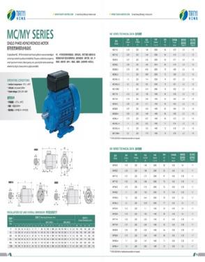 MC Motor Manufactures in AC Motor