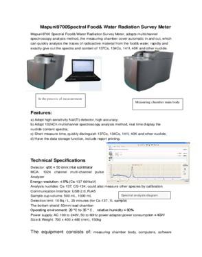 Radiation Survey Meter