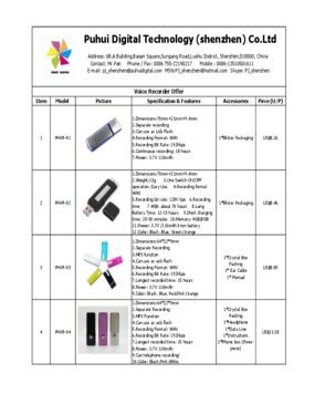4G/8G Digital Voice Recorder