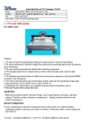cnc wood relief machine, woodworking machine