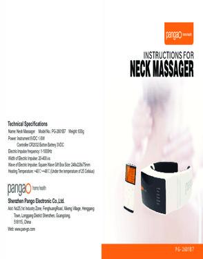 Pangao Neck Massager