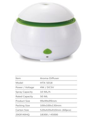 RE-HTX-5018 Car Aroma diffuser, Mini Aroma Diffuser, Mini Ultrasonic Diffusers ,Mini Home Diffuser, Mini Fragrance Diffuser, Mini essential oil diffuser,Oil diffuser, Mini Aroma Diffuser