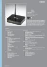 WLAN ADSL2+ 4-Port Switch Wireless Modem high-speed Router
