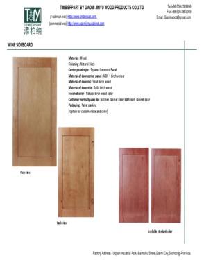 Shaker Cabinet Doors