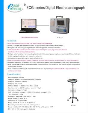 Electrocardiograph (ECG-213)