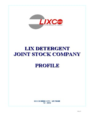 LIX DETERGENT JOINT-STOCK COMPANY