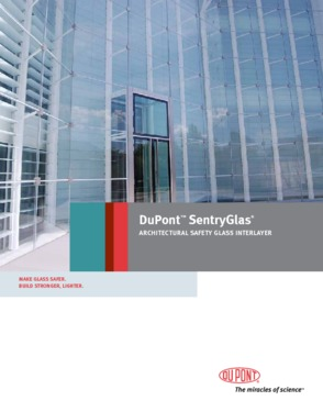 Sentryglas Plus laminated glass China Supplier