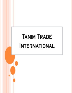 Tanim Trade  International
