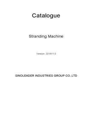 SINOLEADER INDUSTRIES GROUP CO. LTD.,