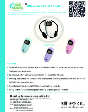 fetal detector  BF510S