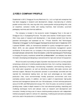 Dongguan Vsunny Machinery Co., Ltd
