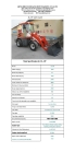 china articulated with ce and EUROIII wheel loaders ZL15 for sale