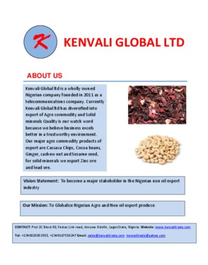 Kenvali Global Ltd