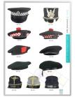 Uniform Woollen Berets   Military Hats & Caps   Peaked Caps   Uniform Peak Caps