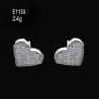 Sterling Silver Earrings (CZ Stones)