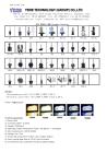 LED auto light, T5, T8, T10, T20, T25 car light