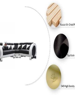 Antique Simple Comfortable Leisure Sofa Bed
