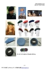 100% wool Military berets for various countries