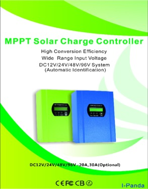 96V 30A 3400W MPPT solar charge controller Regulator RS232 LCD