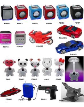 Mini MP3/USB/FM Radio/SD Card Speaker
