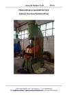 Hydraulic c-frame press brand Galdabini 80 tons
