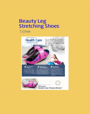Healthcare stretching shoes