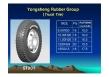 radial truck tire 1000r20