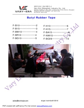 butyl adhesive tape