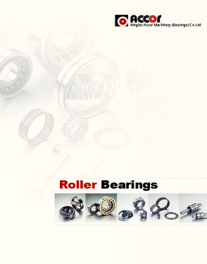 Spherical/Tapered/Cylindrical Roller bearings