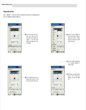 Handheld Terminal with Biometric Fingerprint Reader, Barcode Scanner