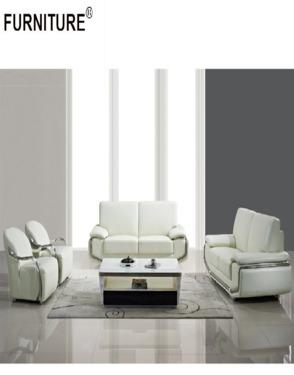 Modern Living Room Furniture Sectional Corner Leather Sofa