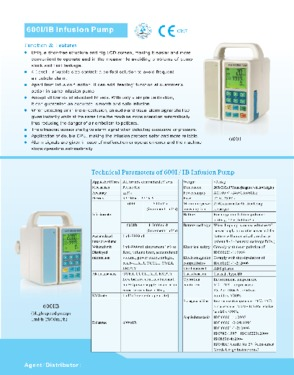 Electronic infusion pump