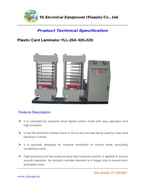 Plastic Card Laminator